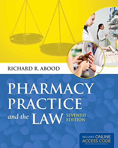 9781449686918: Pharmacy Practice and The Law (book)