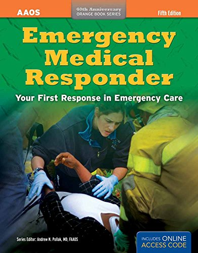 9781449693008: Emergency Medical Responder: Your First Response in Emergency Care (Orange Book)