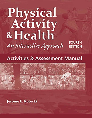 Activities And Assessment Manual: Jerome Kotecki