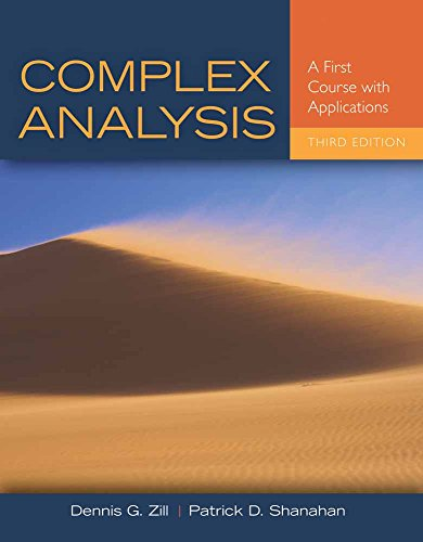 9781449694616: Complex Analysis: A First Course with Applications