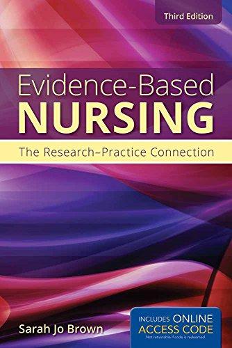Evidence-Based Nursing: Brown, Sarah Jo