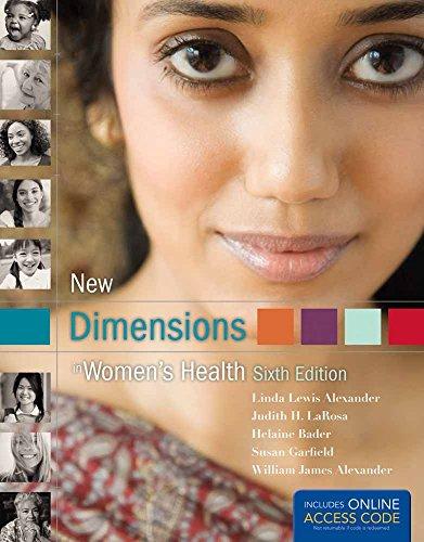 New Dimensions In Women's Health: Alexander, Linda Lewis,