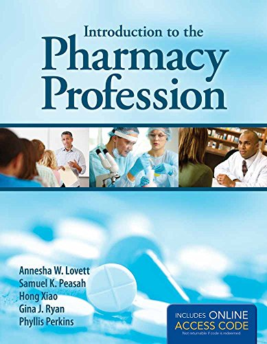 9781449698195: Introduction to the Pharmacy Profession