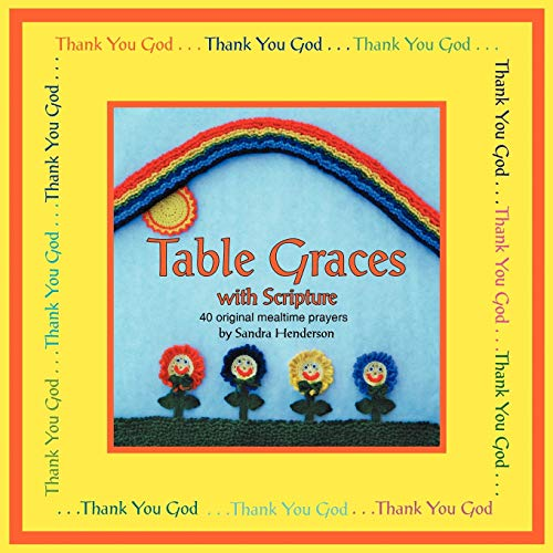 9781449750039: Table Graces: With Scripture