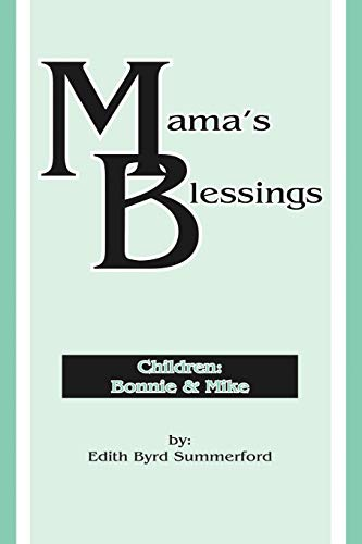 9781449758295: Mama's Blessings