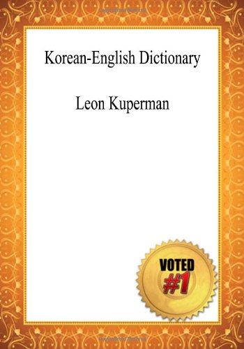 9781449994501: Korean-English Dictionary - Leon Kuperman