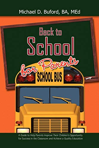 Back to School for Parents: Michael D. B. A. Med. Buford