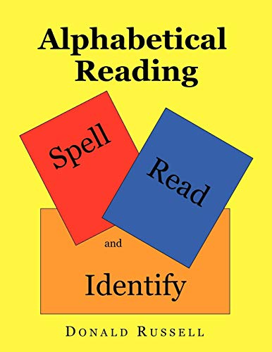 9781450068413: Alphabetical Reading: Spell, Read and Identify