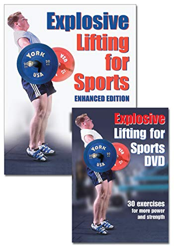 9781450401852: Explosive Lifting for Sports book/DVD Package-The enhanced Edition