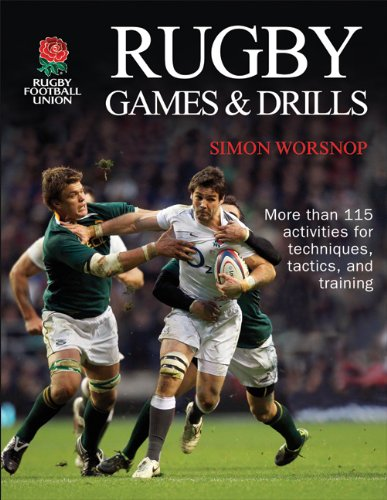 9781450402132: Rugby Games & Drills