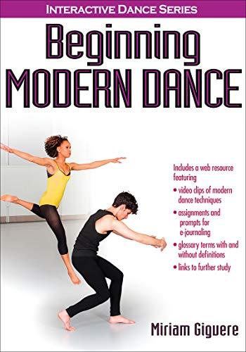 9781450405171: Beginning Modern Dance With Web Resource (Interactive Dance)