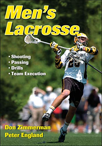 Mens Lacrosse 9781450411196 In Men's Lacrosse, coaching legend Don Zimmerman joins forces with Peter England to present the skills and strategies you need to take your game to the next level. From individual technique to team execution, Men's Lacrosse covers it all. With detailed instruction, expert advice, and personal insights from a Hall of Fame coach, you'll learn to improve these skills: · Fundamentals such as passing, scooping, feeding, cutting, dodging, and finishing · Shot power, accuracy, selection, and placement for high-percentage scoring · Goalkeeping techniques such as stick work, clearing, positioning, and challenging shots · Offensive opportunities by using field position, forcing turnovers, and taking advantage of player match-ups You'll also find more than 25 of the very best drills for skill development, training and conditioning, and team execution. With in-depth coverage of the most effective offensive and defensive schemes, tactics, and strategies for today's game, Men's Lacrosse is essential reading for serious players and coaches alike.