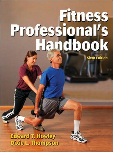 9781450421393: Fitness Professional's Handbook Presentation Package plus Image Bank-6th Edition