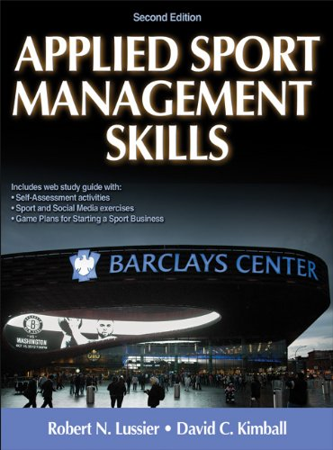 9781450434157: Applied Sport Management Skills-2nd Edition With Web Study Guide