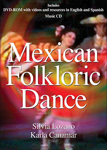 9781450444590: Mexican Folkloric Dance DVD with Music CD