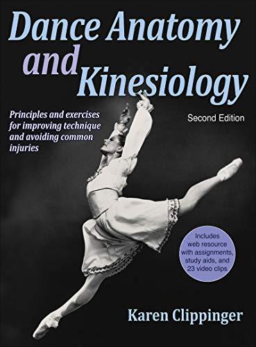 9781450469289: Dance Anatomy and Kinesiology-2nd Edition With Web Resource