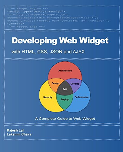 9781450502283: Developing Web Widget with HTML, CSS, JSON and AJAX: A Complete Guide to Web Widget