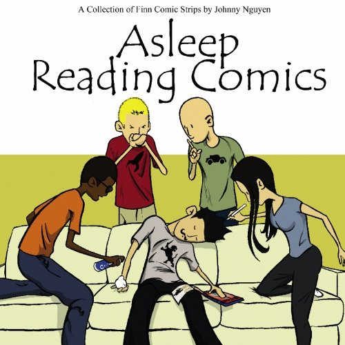 9781450505062: Asleep Reading Comics: A Collection of Finn Comic Strips by Johnny Nguyen