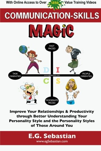 9781450513340: Communication Skills Magic: Improve Your Relationships & Productivity through Better Understanding Your Personality Style and the Personality Styles of Those Around You