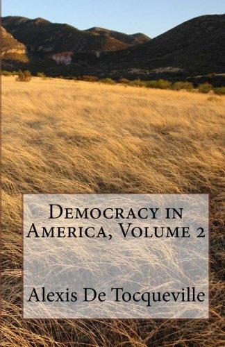 9781450523332: Democracy in America, Volume 2
