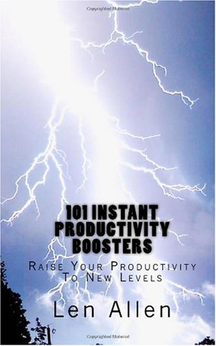 9781450536400: 101 Instant Productivity Boosters: Raise Your Productivity To New Levels