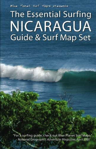 9781450537872: The Essential Surfing NICARAGUA Guide & Surf Map Set