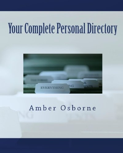 9781450550994: Your Complete Personal Directory