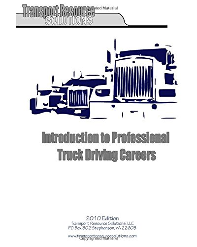 9781450576437: Introduction to Professional Truck Driving Careers