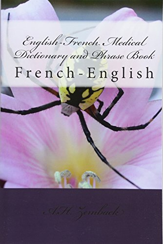 9781450589680: English-French Medical Dictionary and Phrase Book: French-English
