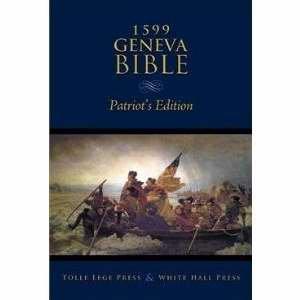9781450713986: 1599 Geneva Bible Patriots Edition