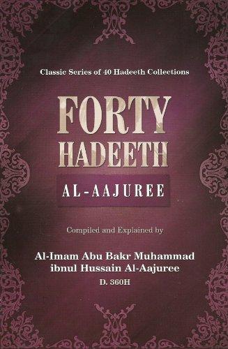 9781450720731: Forty Hadeeth (Al-Aajuree)