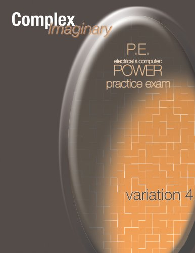 9781450736350: P.E. Electrical & Computer: Power Practice Exam Variation 4
