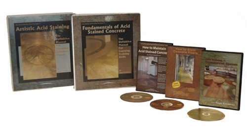 9781450761598: Acid Staining Secrets of the Pros: Professional Stainers Package