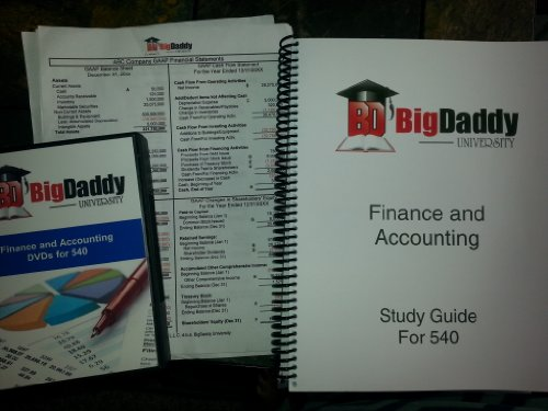 9781450769754: Big Daddy University - CPCU 540 - Finance and Accounting