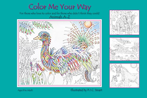 Color Me Your Way ~ Animals A to Z: Desconocido