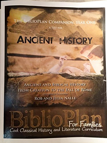 9781450783361: BIBLIOPLAN COMPANION, YEAR ONE A Text for Ancient History