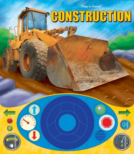 Construction Vehicles Steering Wheel Play-a-Sound Book