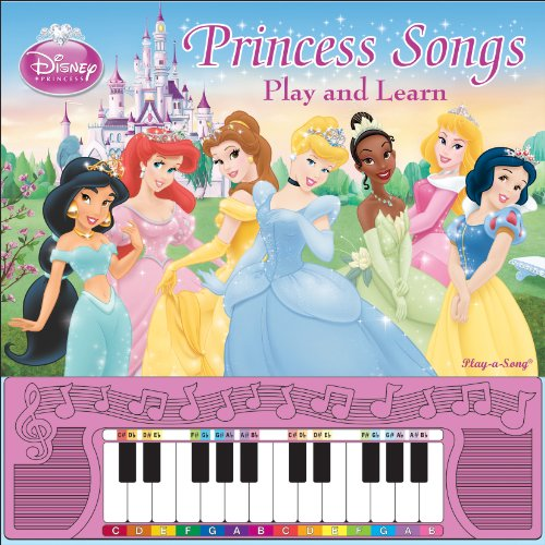 9781450801133: Disney Princess Piano Songbook: Play and Learn