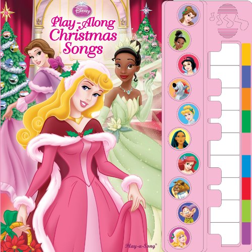 9781450801270: Disney Princess Piano Songbook: Play-Along Christmas Songs