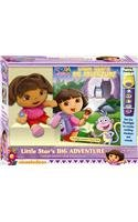 9781450801294: Little Star's Big Adventure: Flashlight Adventure Book and Dora Plush (Dora the Explorer)