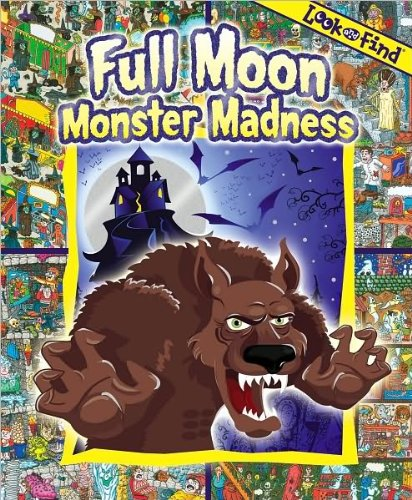 9781450801546: Full Moon Monster Madness Look and Find