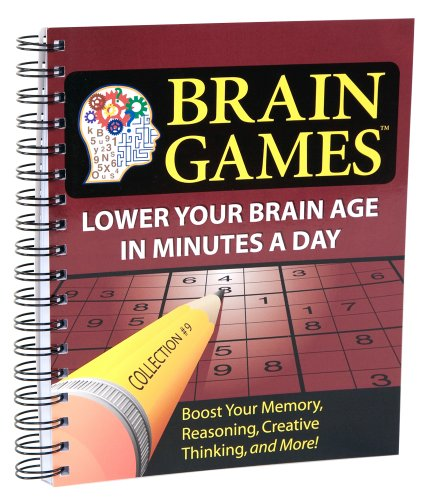 9781450802093: Brain Games #9: Lower Your Brain Age in Minutes a Day (Brain Games (Numbered))