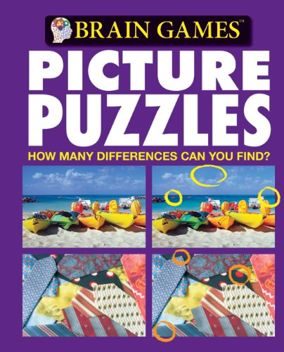 Brain Games Picture Puzzles: How Many Differences Can You Find? (Brain Games (Unnumbered)): Editors...