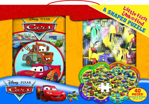 9781450802550: Disney Cars Little First Look and Find and Puzzle