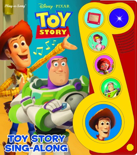 9781450803366: Toy Story Sing Along: Little Music Note Six Button Book