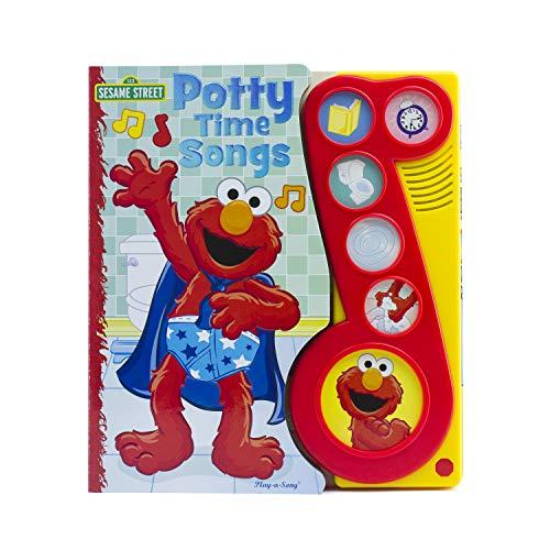 Sesame Street - Elmo Potty time Songs Little Music Note Sound Book - PI Kids (9781450803656) by Editors Of Phoenix International Publications