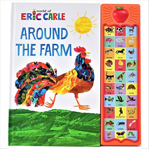 9781450805759: Eric Carle - Around the Farm (Apple Play a Sound Book)