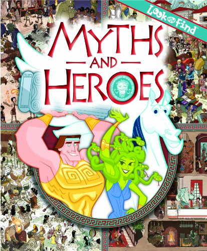 9781450806657: Myths and Heroes (Look and Find)