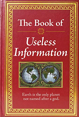 9781450807463: The Book of Useless Information