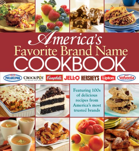 9781450807791: America's Favorite Brand Name Cookbook (Five Ring Binder) by Editors of Publications International LTD (2011) Ring-bound